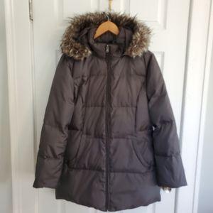 Cole Haan Winter coat with faux fur trim hood